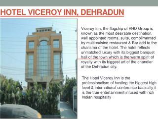 Book Hotel Viceroy Inn Dehradun online