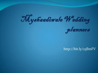 Destination Wedding Planners India