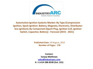 Automotive Ignition systems market boosted by fuel efficient innovations