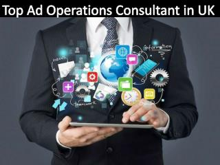 Top Ad Operations Consultant in UK
