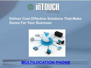 Deliver Cost Effective Solutions That Make Sense For Your Business