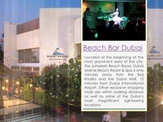 Beach Hotels In Dubai