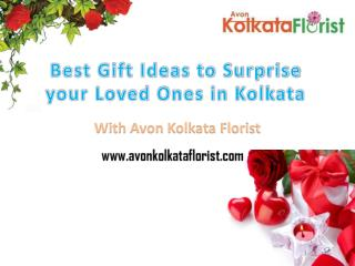 Best Gift Ideas to Surprise Your Loved Ones in Kolkata