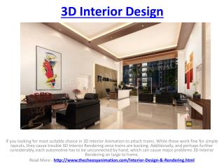 3D Interior Design Studio