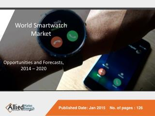 Future of smartwatch industry in coming 5 years