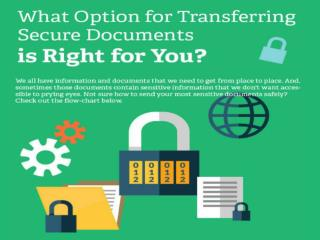 What Option for Transferring Secure Documents is Right For You