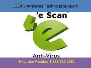 Escan Antivirus Helpline Number &&## USA Canada
