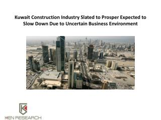 Commercial Construction market Kuwait - Construction industry Kuwait - Ken research