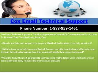 Cox Email Technical Support