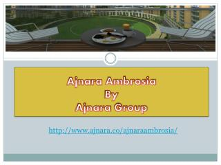 Ajnara Ambrosia Has Best Features and Amenities