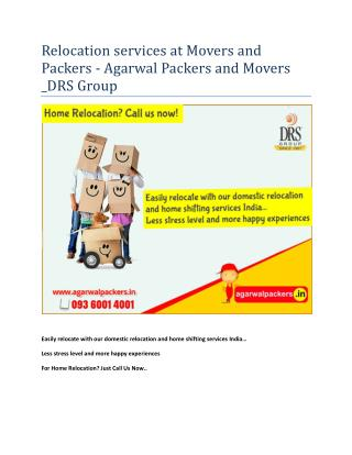 Agarwal Packers and Movers | Packers and Movers | Movers and Packers