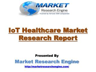 Telemedicine and Electronic Health Record are Major Revenue Contributors for IoT Healthcare Market by 2022: Market Resea