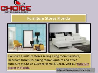 Furniture Stores Florida