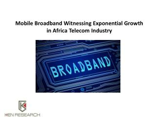 Africa Mobile Communications Market Research Report : Ken Research