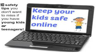 10 Tips on How to Keep Your Kids Safe Online