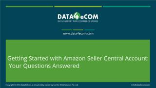 Getting Started with Amazon seller central account: Your Questions Answered
