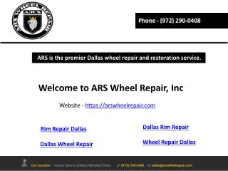 Wheel Repair Dallas