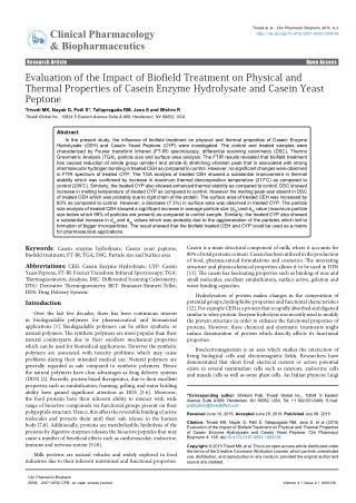 Casein Enzyme Hydrolysate & Casein Yeast Peptone