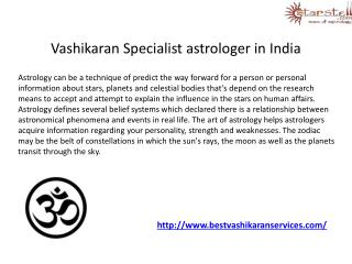 Vashikaran Specialist Astrologer in india