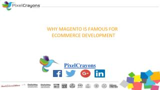 Why Used Magento For Ecommerce Development