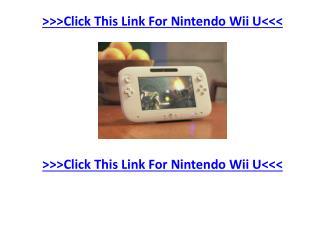 News for Nintendo Wii U Games