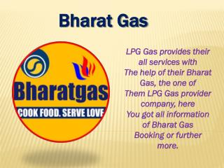 Bharat Gas Booking Process