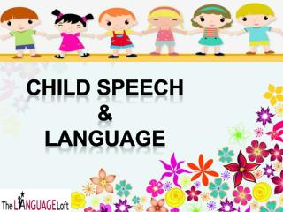The Language Loft Provide Speech and Language Therapy