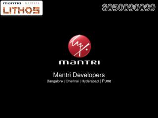 Mantri Lithos: Pre-launch 2 BHK, 3BHK Apartmnets