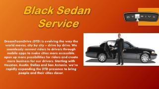 Black Sedan Service