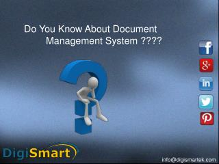 Document Management And Scanning Services