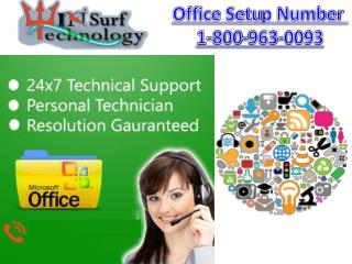 Online Customer Support For Microsoft Office Setup 1-800-963-0093