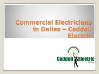 Commercial Electricians in Dallas