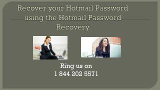 1 844 202 5571 Hotmail Password Recovery Number