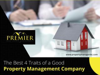 Top Qualities of a Good Property Management Company