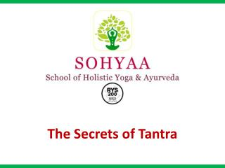 The Secrets of Tantra