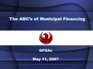 GFOAz May 11, 2007
