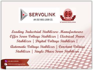 Servo Voltage Stabilizer In Delhi