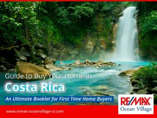 The Buyer's Guide - Tips to Buy Your Dream House in Costa Rica