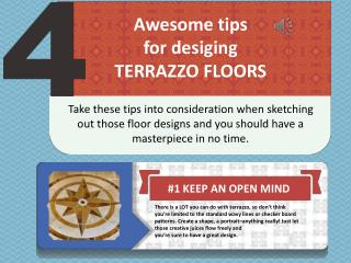 4 Awesome Tips for Designing Terrazzo Floors