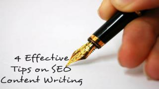 4 Effective Tips on SEO Content Writing