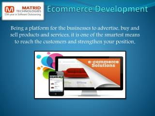 e-commerce solutions india