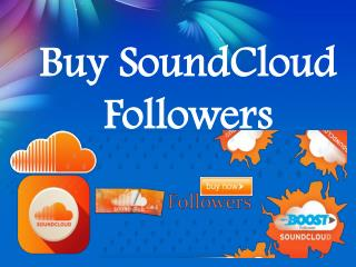 Buy SoundCloud Followers- Buysoundcloudlikes