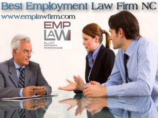 Best Employment Law Firm NC