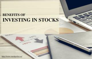 The Various Perks of Investing in Stocks