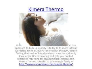 Build Your Muscle Powerfull With Kimera Thermo