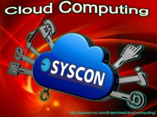 Cloud computing services- Syscon-inc