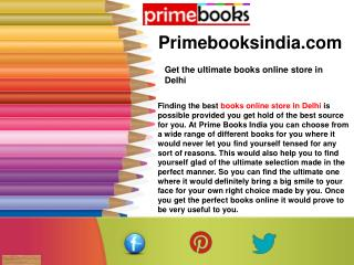 Get the ultimate books online store in Delhi