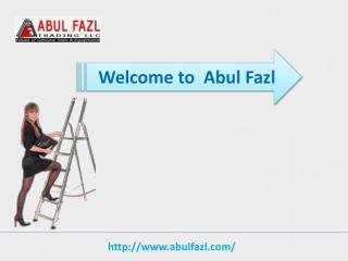 Tubesca Ladder Produced Using Aluminum in UAE