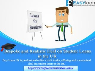 Loans for Students to Fund Studies