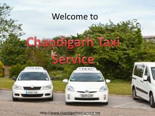 Best Taxi Services in Chandigarh